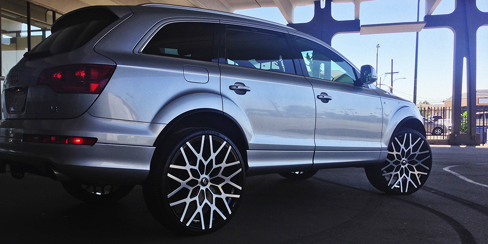 Audi Q7 Silver Car Gallery Forgiato