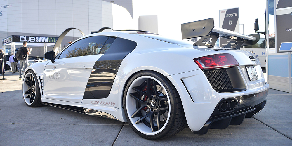 Audi R8 White Car Gallery Forgiato