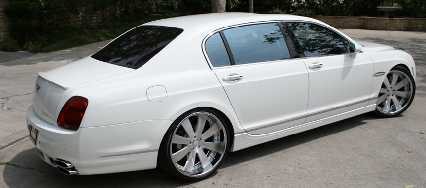 Bentley | Flying Spur | White | car gallery | Forgiato