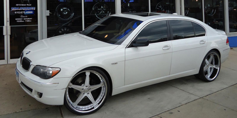 Bmw 745li White Orig