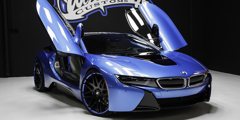Blue Bmw I8 Car Gallery Forgiato
