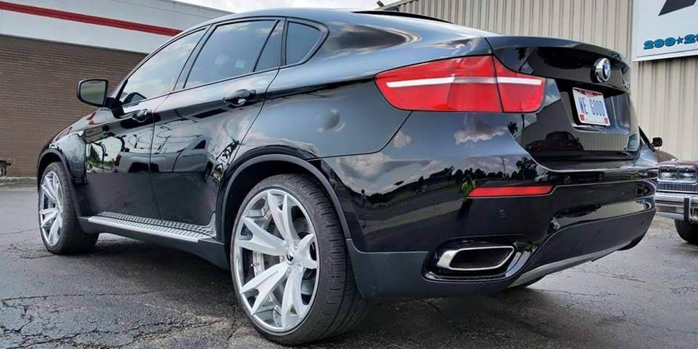 Black Bmw X6 Series Car Gallery Forgiato