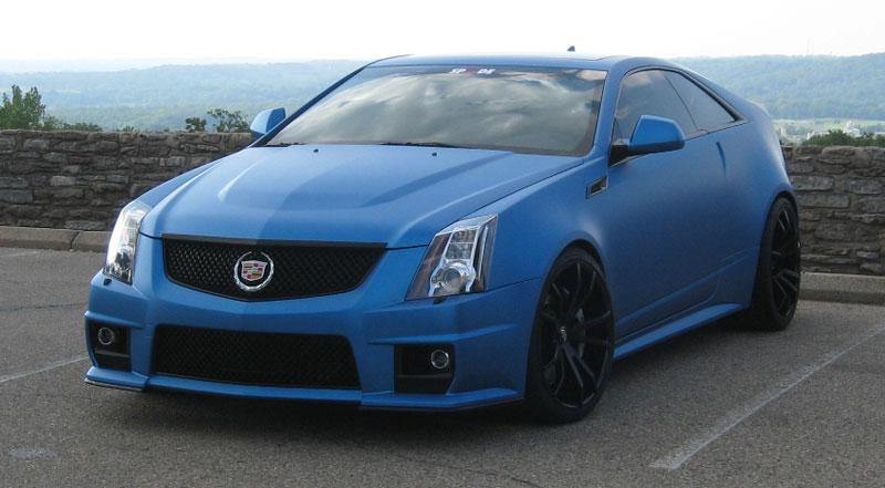 Blue Cadillac Cts Car Gallery Forgiato