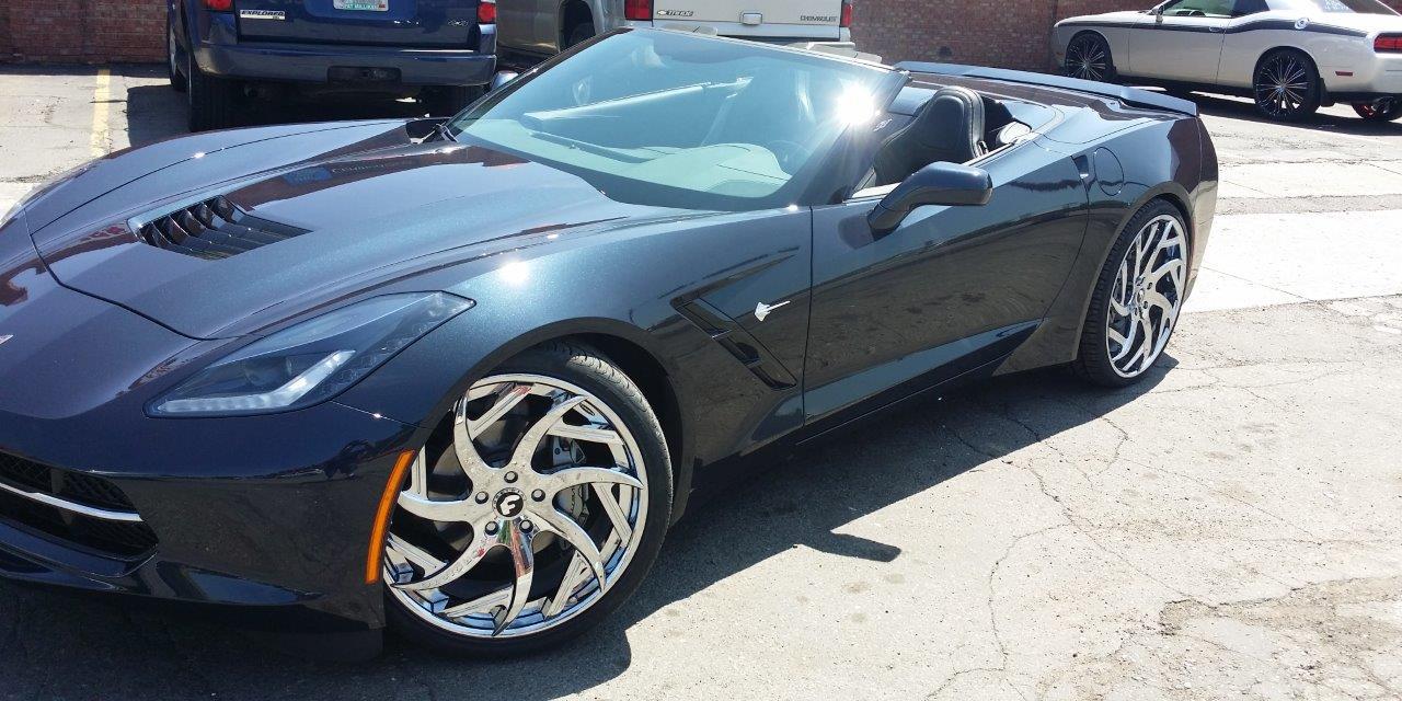 C7 Corvette For Sale >> Black | C7 | Corvette | car gallery | Forgiato