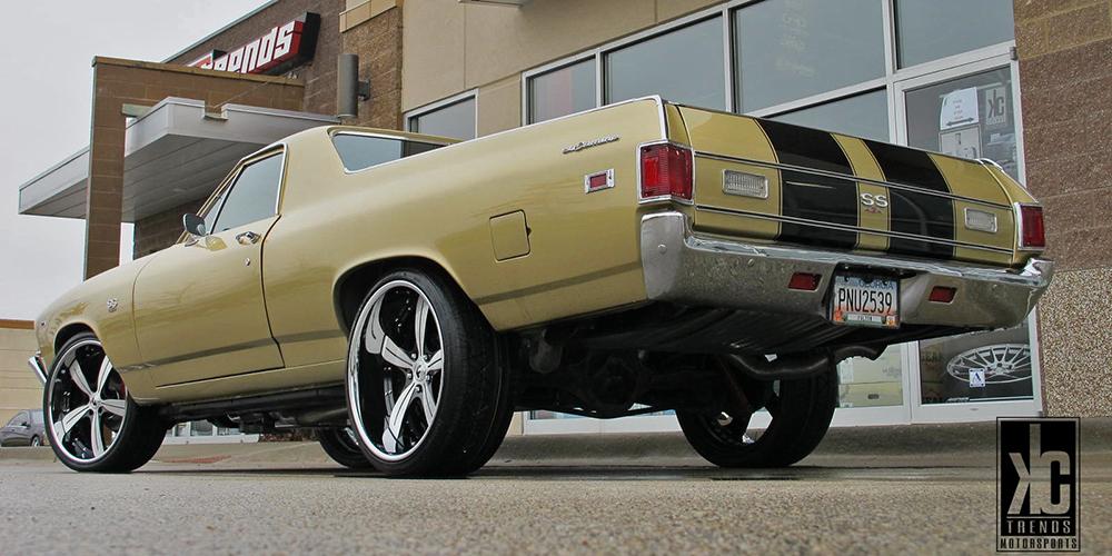 Chevrolet El Camino Gold Car Gallery Forgiato