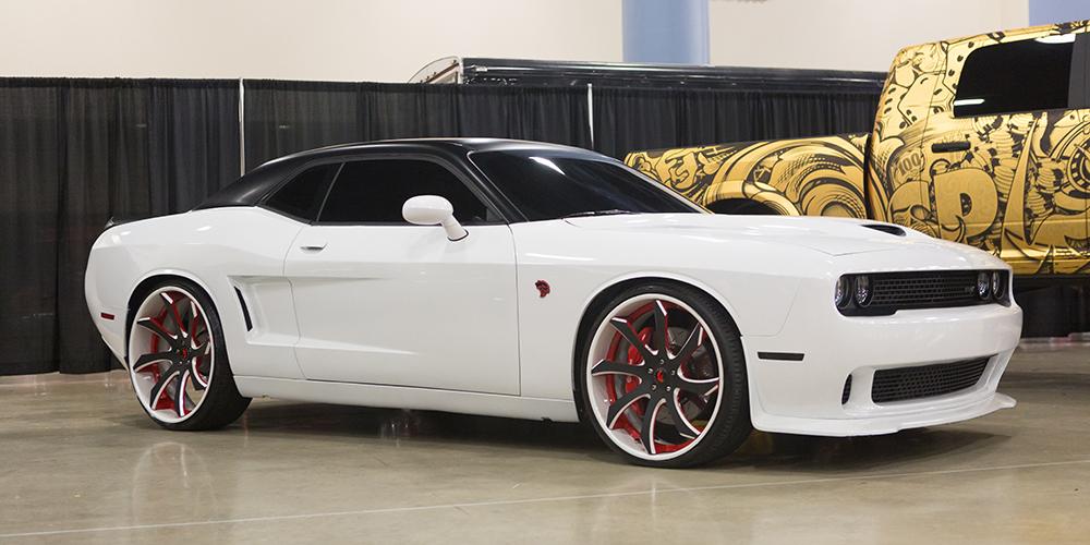 White Rims White Rims Dodge Challenger