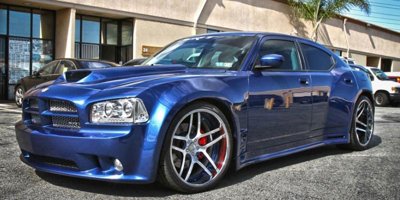Dodge Charger Blue E