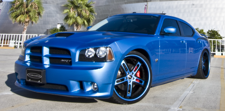 Blue Charger Dodge Car Gallery Forgiato