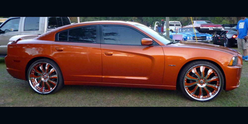 Charger Dodge Orange Car Gallery Forgiato
