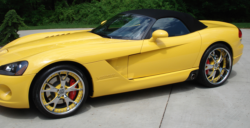 Dodge Viper Yellow Yellow dodge viper