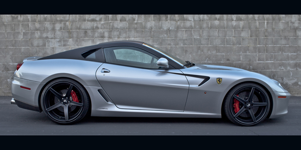 Cars Gallery Ferrari 599 Grey Forgiato