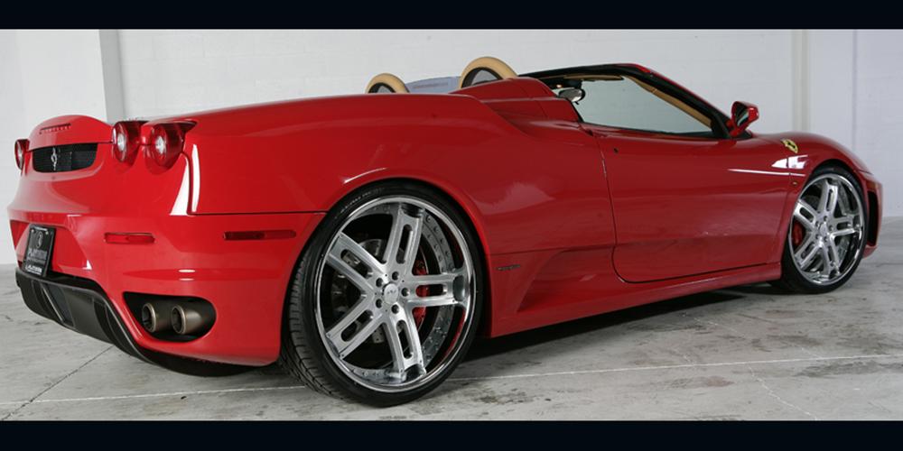 F430 Ferrari Red Car Gallery Forgiato