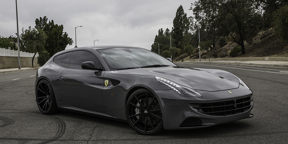 Ferrari Ff Grey Car Gallery Forgiato