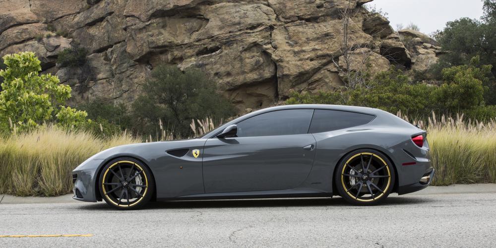 Ferrari Ff Grey Car Gallery Forgiato