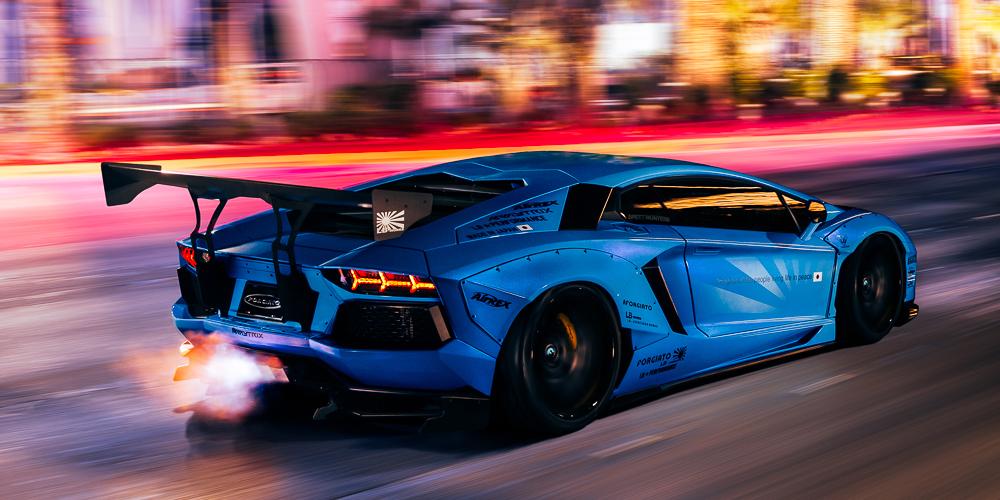 Aventador Blue Lamborghini Car Gallery Forgiato