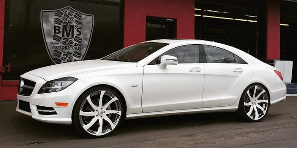 Cls Class Mercedes Benz White Car Gallery Forgiato