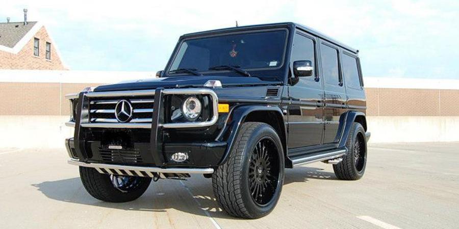 G wagon g63 mercedes benz car gallery forgiato for All black mercedes benz g wagon