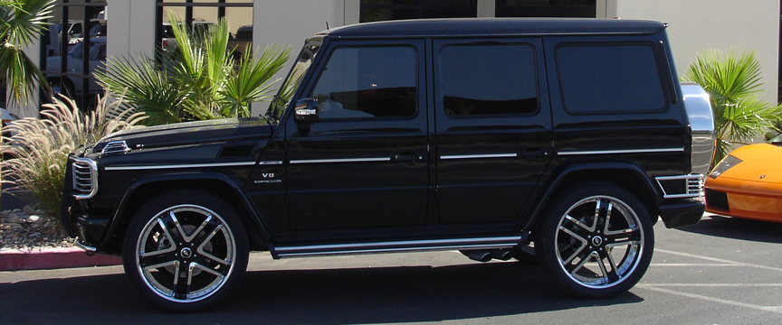 Blacked Out Mercedes e Class Mercedes-benz-g63-black