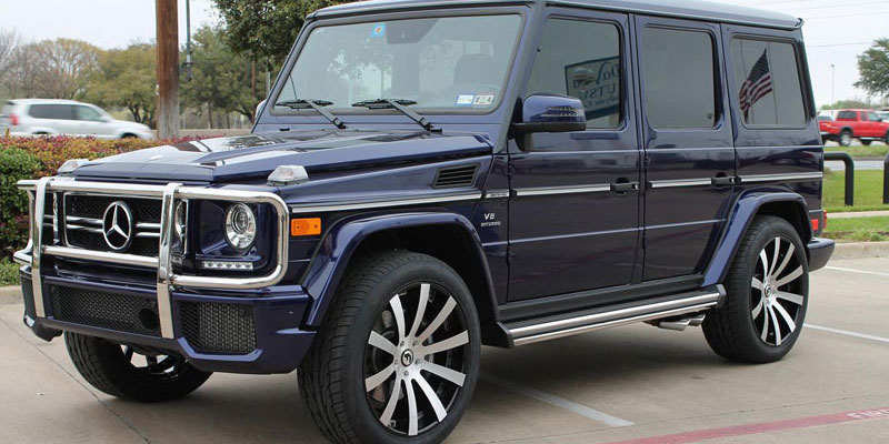 Matte g wagon navy blue pictures to pin on pinterest for Navy blue mercedes benz
