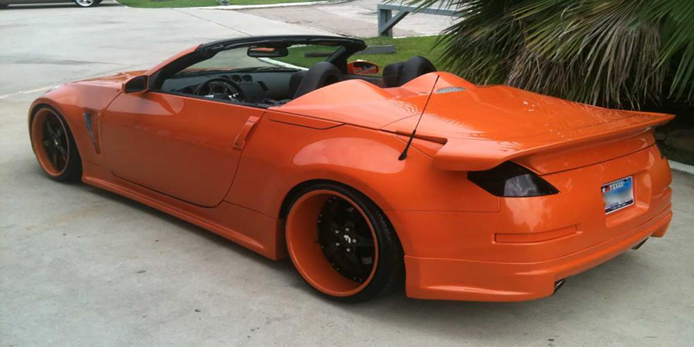 350z Nissan Orange Car Gallery Forgiato