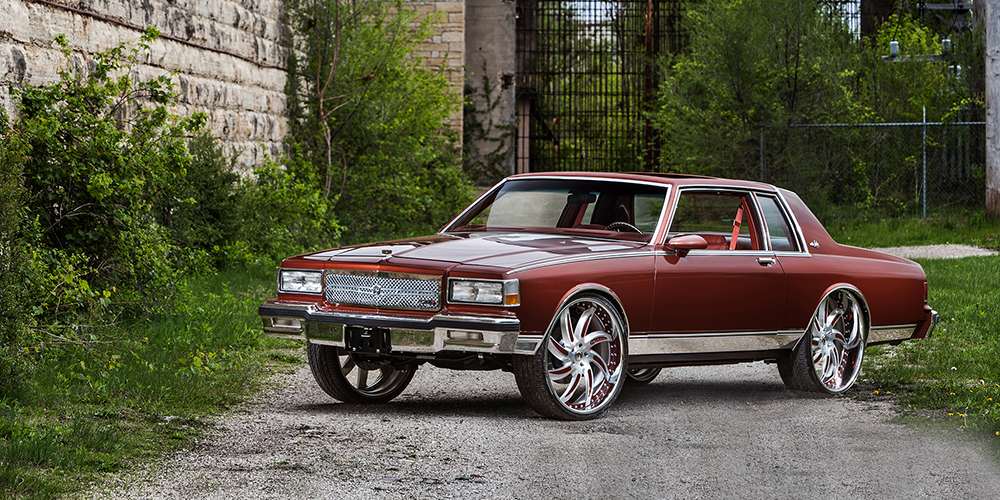 Build Your Car >> Caprice | Old School | Red | car gallery | Forgiato