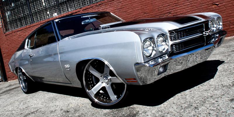 Chevelle | Old School | Silver | car gallery | Forgiato