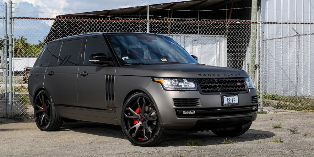 Grey range rover sport car gallery forgiato