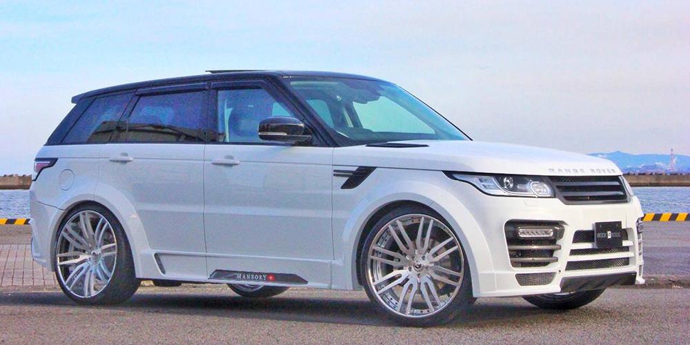 Range Rover | Sport | White | car gallery | Forgiato