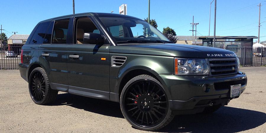 Green Range Rover Sport Car Gallery Forgiato