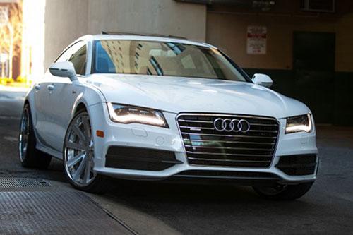 A7 Audi White Car Gallery Forgiato