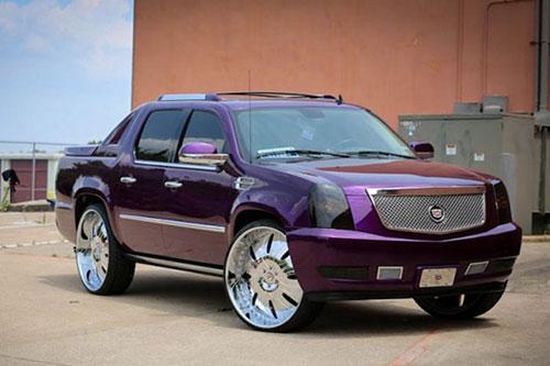 Purple Kids Cadillac Escalade Autos Post