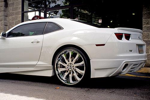 Build Your Car >> Camaro | Chevrolet | Green | car gallery | Forgiato