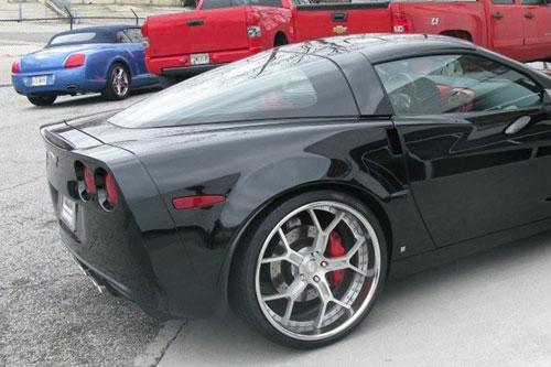 Build Your Car >> Black | C6 | Corvette | car gallery | Forgiato