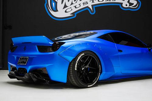 458 Italia Blue Ferrari Car Gallery Forgiato