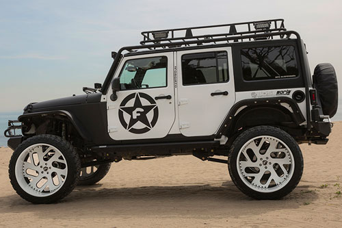 Build A Jeep >> Black | Jeep | Wrangler | car gallery | Forgiato
