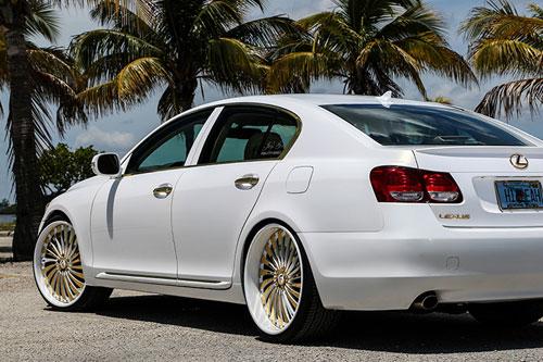 Gs Lexus White Car Gallery Forgiato