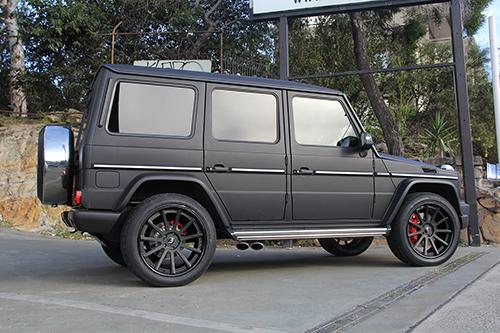 Wheels for Mercedes benz matte black g wagon