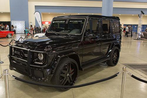 G wagon for Black mercedes benz g wagon