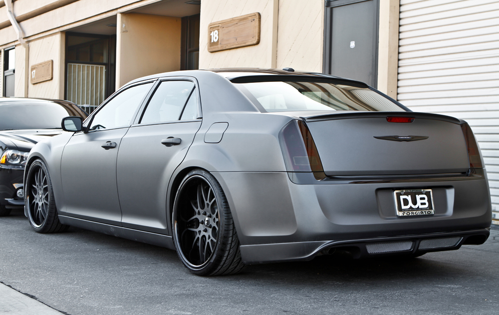 Anyone know what rear window spoiler this is  Chrysler 300C