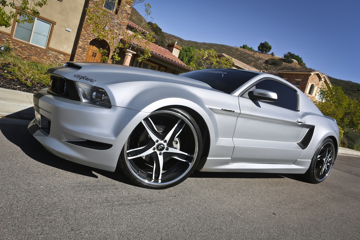 forgiato wide body kit mustang gt 2014 autos post. Black Bedroom Furniture Sets. Home Design Ideas
