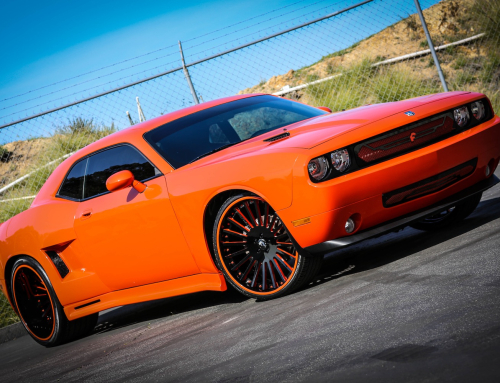 Wide Body Dodge Challenger w/ Disegno Forgiato Wheels & Matching Grille