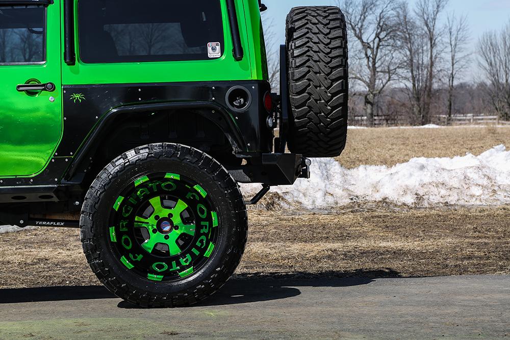 Jeep Wrangler Stock Tire Size >> Jeep Wrangler on 24×14 Terra Wheels