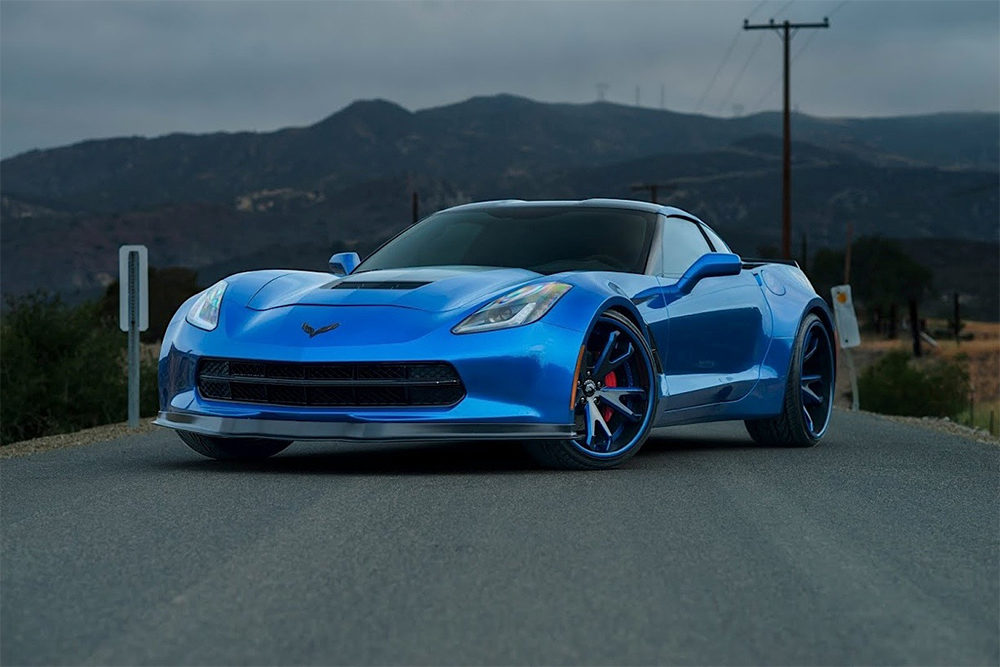 The story behind Kelly Formm's Widebody C7