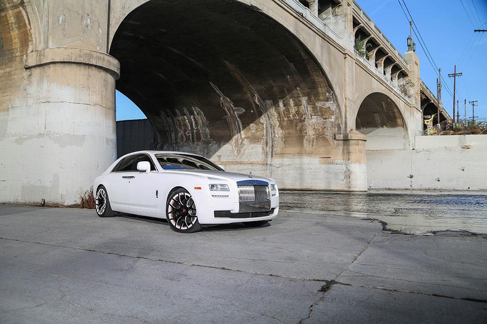 Rolls Royce Ghost on Monoblock Forgiatos