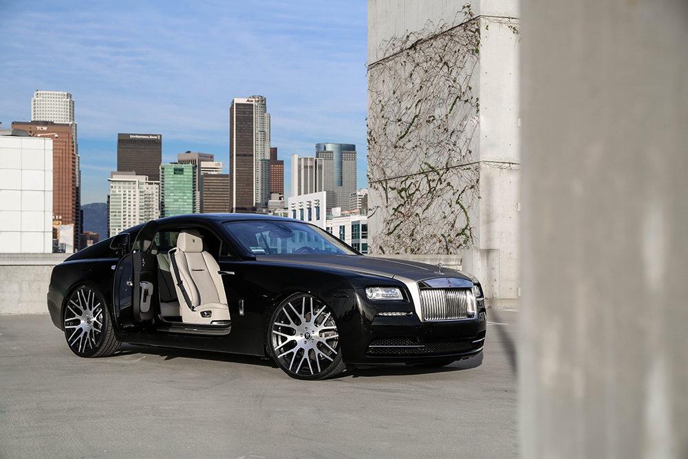 Rolls Royce Wraith on Monoblock Wheels
