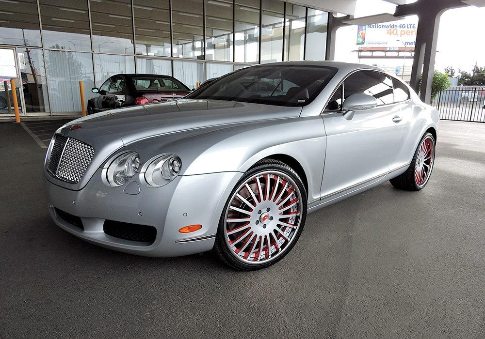 Bentley GT on Forgiato Andatas by Wheel Service