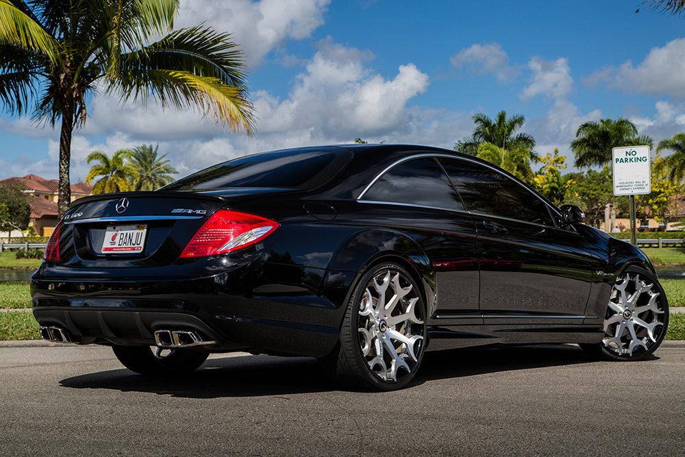 Mercedes CL600 in Miami