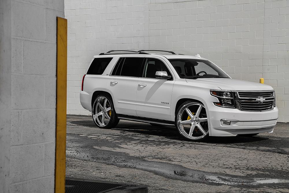 Custom Wheels On 2015 Tahoe   Autos Post