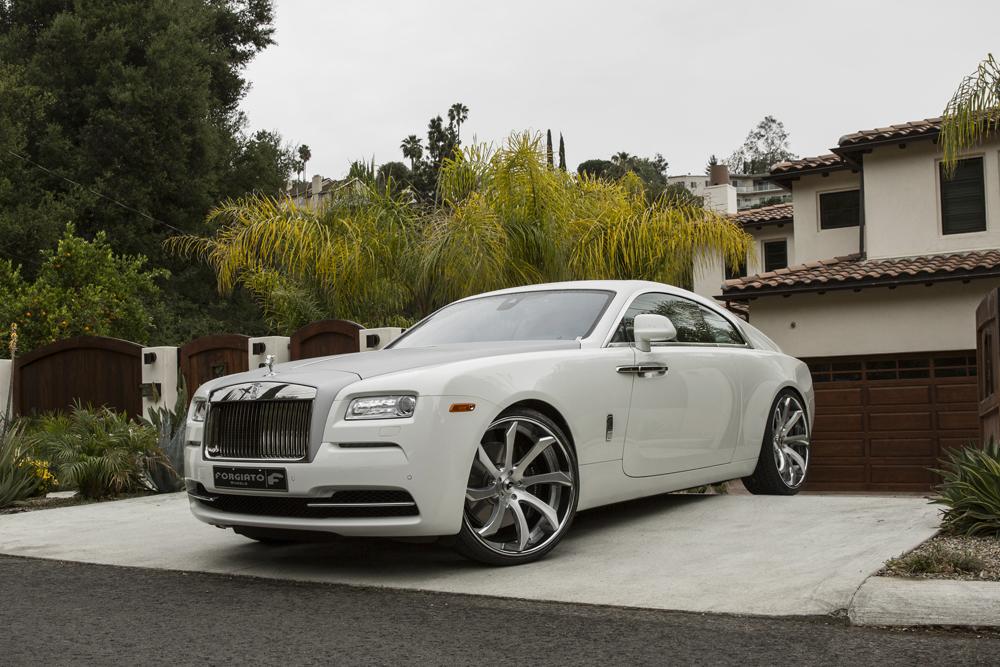 On A Cloud – Rolls Royce Wraith On Fondare ECL