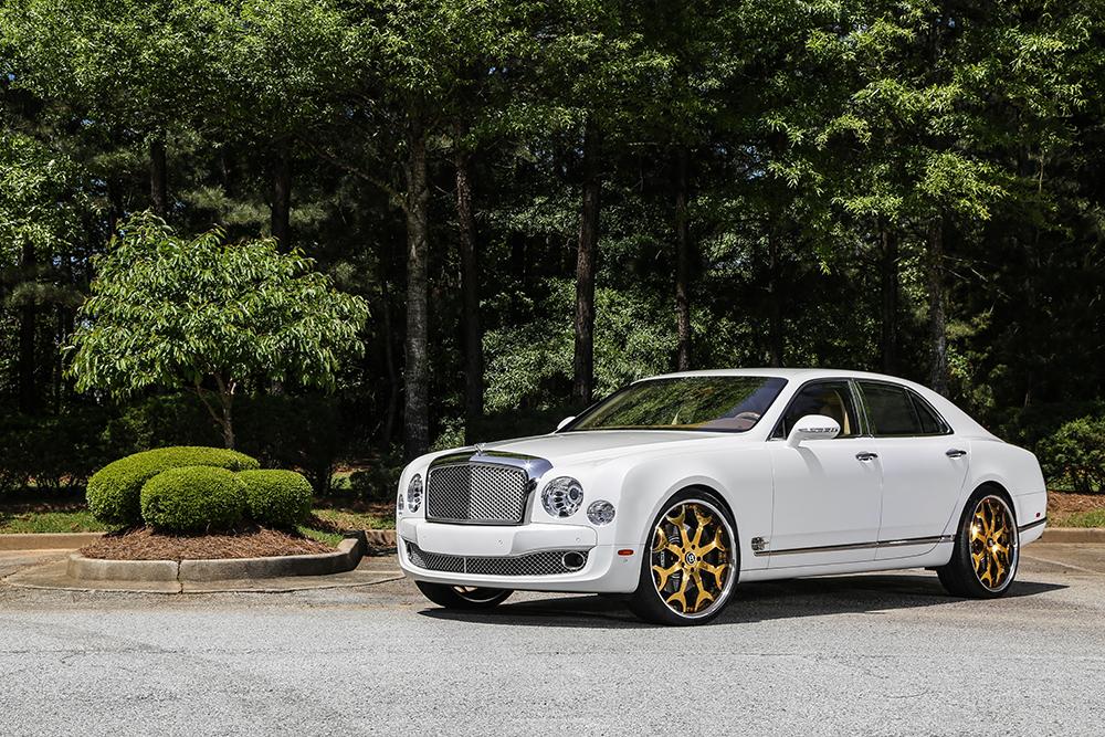 Limitless Luxury 2015 Bentley Mulsanne On 24 Capalavaro